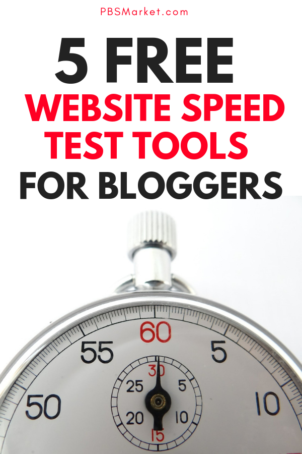 Blogging Tools | Website speed is an important factor in ranking in Google. Here are 5 free tools you can use to test the speed of your website or blog. #bloggingtips #blogtools #seo #blogtools